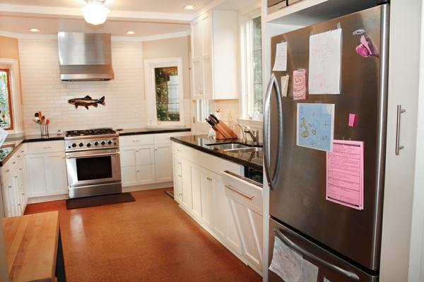 Complete kitchen. Custom cabinet, tile designed by Jim Dixon A.I.A.